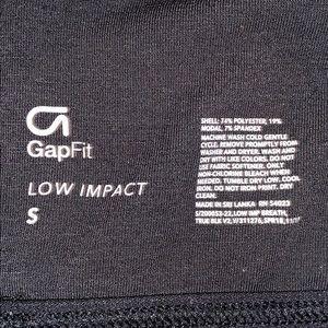 GAP Intimates & Sleepwear - Gapfit Black Strappy Sports Bra